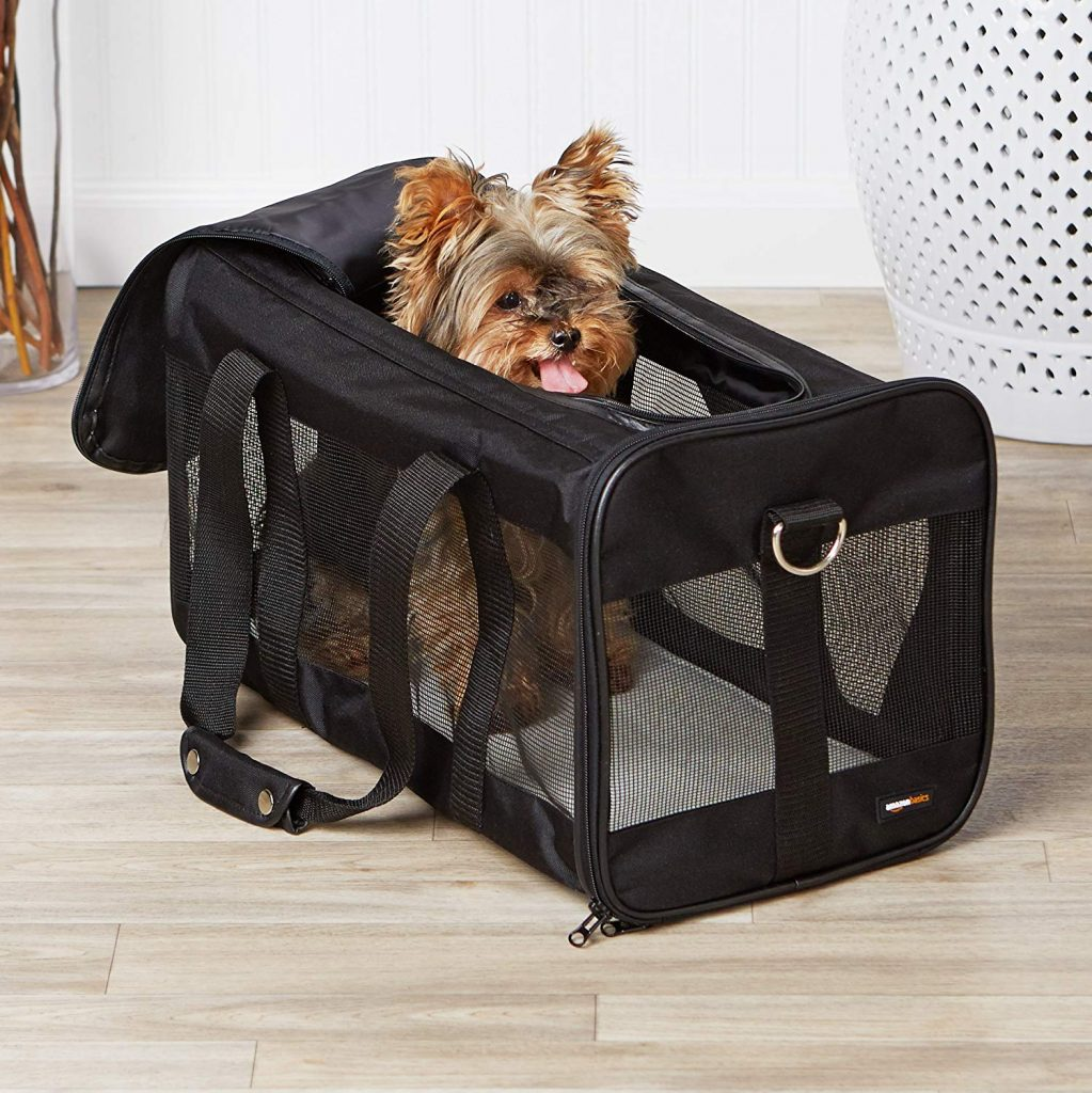 amazonbasics sac transport animal test
