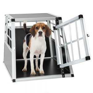 tectake cage transport chien test